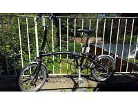 Brompton bike, excellent condition barely used