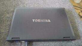 Toshiba intel i3, 4gb ram, 300gb memory, windows10 PRO