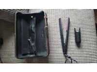 Ghd hair straighners with carry case
