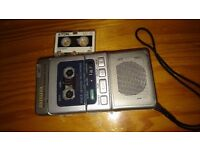 AIWA MICRO CASSETTE RECORDER TP-M720 with 3 Micro Cassettes and Original Case STILL AVAILABLE