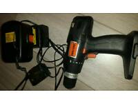 Cordless drill and charger
