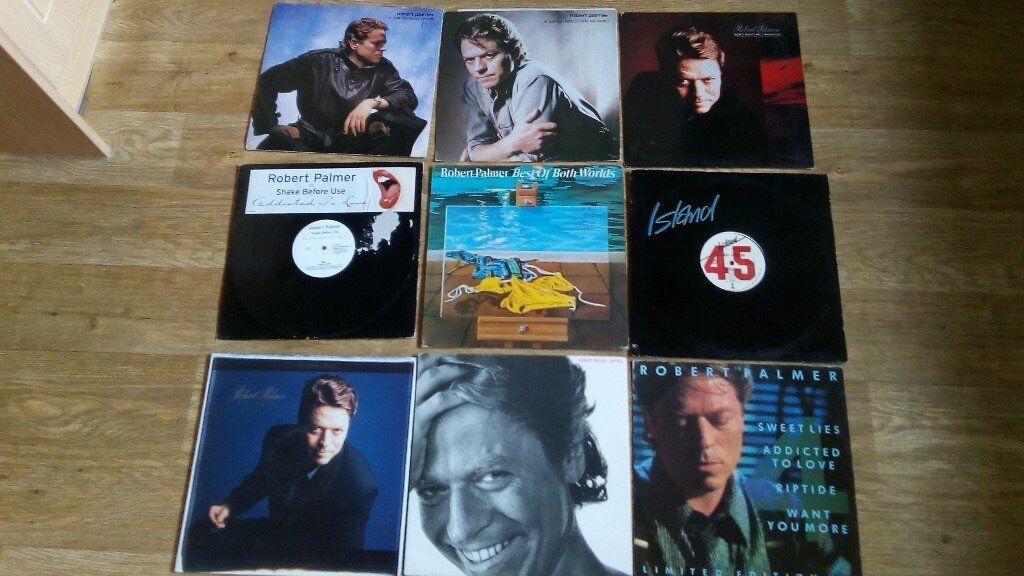 29 x robert palmer vinyls - LP's /