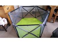 Playpen foldable