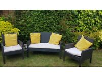 Ratten Garden Furniture Seats