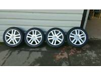 VW GOLF MK5 17 INCH ALLOYS