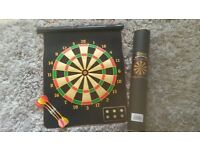 safety kids roll up magnetic darts board.