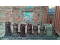 Chimney pots Crown tops from £20 FREE LOCAL DELIVERY