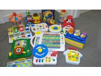 Children's toys as shown on images. Save a fortune for Christmas all as new and work perfectly.