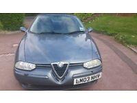 Alfa Romeo 156 1.9 jtd Diesel 2003 (03 Reg)