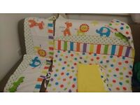 Cot bed duvets , blankets