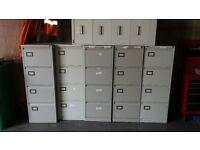 4 drawer metal fileing cabnets