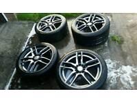 Speedline wheels 18 inch+pirelli tyres