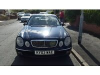 Mercedes E320 cdi automatic diesel Low mileage not bmw, audi or volkswagon