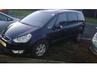 Ford Galaxy 10 Plate with PCO