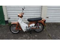 Riders Super Cub (Honda C90 copy) 12 months MOT