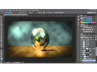 ADOBE PHOTOSHOP, INDESIGN, AFTER EFFECTS,ILLUSTRATOR CC 2017,etc...