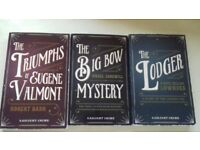 Trio of Gaslight Mysteries and Crime Classic