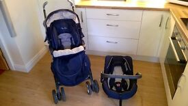 Silver Cross 3D Pram System *plus extras - Pushchair to Pram & detachable Infant Carrier/Car Seat