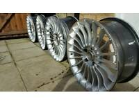 "Bmw e60 or E90 19"" alloys used for sale"