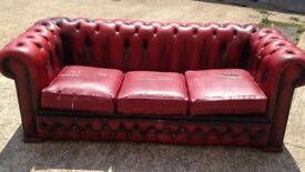 Sofa chesterfield type I CAN DELIVER FREE LOCALLY!