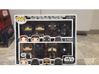 Star Wars pop heads. collectable figures