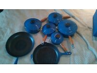 le creuset pan and grill pan