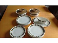 Crown Clarence Ironstone dinnerware