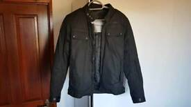 Padded motorcycle jacket small