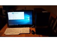 HP Pro 3125 MT with touch screen Monitor