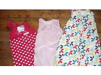 Baby sleeping bags/ gro bags 6 to 18 months