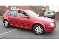 2002 VW GOLF 1.6L 117K WITH FULL SERVICE HISTORY