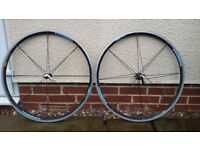 Shimano WH-R540 Wheelset, front and rear wheel