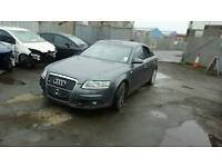 2006 AUDI A6 C6 2.0TFSI S LINE FRONT BUMPER AND GRILL IN GREY