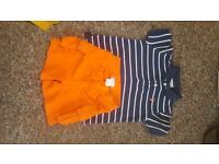 genuine ralph lauren t shirt and shorts 18m