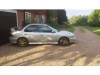 Subaru Impreza UK turbo. Spares or repairs