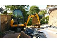 SUPERIOR MINI DIGGERS ***MINI DIGGER AND DRIVER HIRE FROM £225.00 PER DAY FULLY INCLUSIVE ***