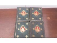 The National Burns Edited by George Gilfillm set of books - complete 4 volume