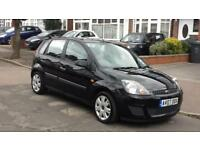 5dr Ford Fiesta 1.25 2007, 80,000 miles