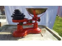 VICTOR traditional cast balance weighing scales