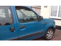 Renault kangoo 2004 Disability vehicle