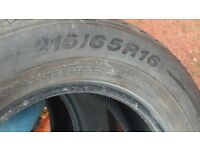 tyres 215/65/R16