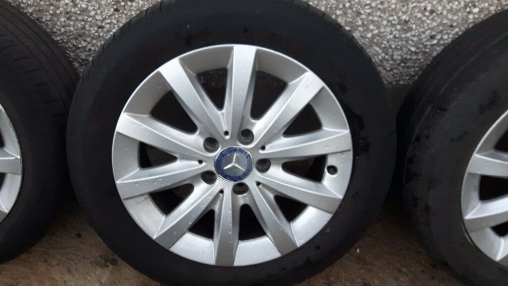 Mercedes C-class wheels and tyres 16 inch