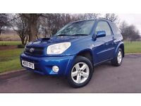 Toyota RAV4 2.0 D-4D XT-R Station Wagon 3dr ONLY 2 OWNERS FROM NEW + FULLY SERVICED