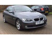 BMW 3 SERIES 2.0 320D SE 2d AUTO 175 BHP PARKING SENSORS, SERVICE RECORD AUTOMATIC