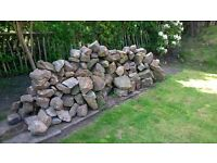 Decorative Garden Rocks - 130 Remaining - Rockery, Edges, Borders, Wall, Beds - £2 each