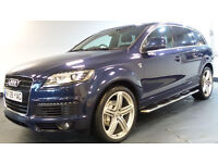2009 09 AUDI Q7 4.2 V8 TDI QUATTRO S LINE 5D AUTO 326 BHP DIESEL*2 YEARS WARRANTY*FINANCE AVAILAB