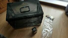 Portable Vivarium and Light Fitting