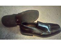 Mens black shoes size 10