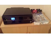 Epson PX730WD Wifi All in one printer, scanner, photocopy, cd print, inks and paper included