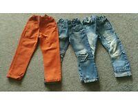 Bundle of Boy's Jeans 4-5 yrs